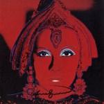 Lot #834: ANDY WARHOL - The Star (Greta Garbo as Mata Hari) - Color offset lithograph