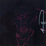 Lot #1315: ANDY WARHOL - Dracula - Color offset lithograph