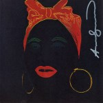 Lot #392: ANDY WARHOL - Mammy - Color offset lithograph