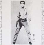 Lot #1307: ANDY WARHOL - Elvis - Original offset lithograph