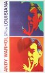 Lot #1316: ANDY WARHOL - Double Self-Portrait - Original color offset lithograph