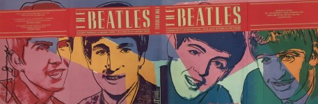 Lot #1608: ANDY WARHOL - The Beatles #2 - Original color offset lithograph