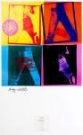 Lot #1156: ANDY WARHOL - Levi's 501 Jeans - Original color offset lithograph
