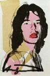 Lot #1868: ANDY WARHOL - Mick Jagger #08 (first edition) - Color offset lithograph