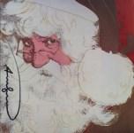 Lot #913: ANDY WARHOL - Santa Claus - Color offset lithograph