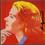 Lot #1979: ANDY WARHOL - Ingrid Bergman: Herself (10) - Color offset lithograph