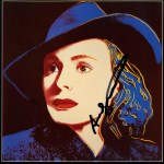 Lot #1973: ANDY WARHOL - Ingrid Bergman: With Hat (09) - Color offset lithograph