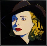 Lot #1972: ANDY WARHOL - Ingrid Bergman: With Hat (10) - Color offset lithograph