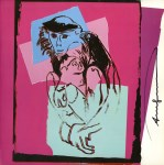 Lot #2086: ANDY WARHOL - Douc Langur (Mother & Baby) - Color offset lithograph