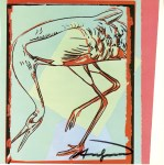 Lot #761: ANDY WARHOL - Whooping Crane - Color offset lithograph