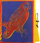 Lot #1740: ANDY WARHOL - Puerto Rican Parrot - Color offset lithograph