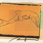 Lot #1933: ANDY WARHOL - La Plata River Dolphin - Color offset lithograph