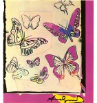 Lot #1402: ANDY WARHOL - Butterflies - Color offset lithograph