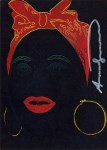 Lot #1137: ANDY WARHOL - Mammy - Color offset lithograph