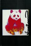 Lot #1256: ANDY WARHOL - Giant Panda - Color offset lithograph