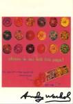 Lot #1155: ANDY WARHOL - Life Savers - Color offset lithograph