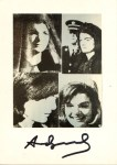 Lot #1966: ANDY WARHOL - Jacqueline Kennedy III (Jackie III) - Color offset lithograph