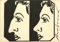 Lot #695: ANDY WARHOL - Before and After - Offset lithograph