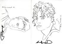 Lot #1116: ANDY WARHOL & KEITH HARING - Martin Fun(d) - Offset lithograph