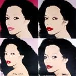 Lot #1326: ANDY WARHOL - Diana Ross x 4 - Original color offset lithograph