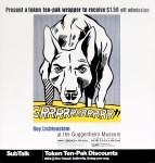 Lot #1240: ROY LICHTENSTEIN - GRRRRRRRRRRR!! - Color offset lithograph