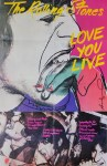 Lot #1141: ANDY WARHOL - Love You Live - Original color offset lithograph