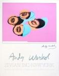 Lot #1391: ANDY WARHOL - Cantaloupes II - Original color offset lithograph