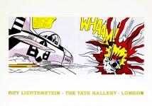 Lot #763: ROY LICHTENSTEIN - Whaam! - Original color offset lithograph