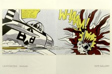 Lot #1517: ROY LICHTENSTEIN - Whaam! - Original color offset lithographs