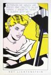 Lot #508: ROY LICHTENSTEIN - Girl at Piano - Color silkscreen