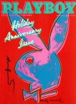 Lot #1764: ANDY WARHOL - Playboy - Color offset lithograph