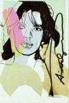 Lot #1104: ANDY WARHOL - Mick Jagger #05 (first edition) - Color offset lithograph