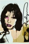Lot #1867: ANDY WARHOL - Mick Jagger #09 (first edition) - Color offset lithograph