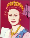 Lot #961: ANDY WARHOL - Queen Elizabeth II (#3) - Color offset lithograph