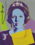 Lot #1737: ANDY WARHOL - Queen Beatrix (#3) - Color offset lithograph