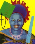 Lot #959: ANDY WARHOL - Queen Notombi (#3) - Color offset lithograph