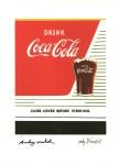 Lot #2139: ANDY WARHOL [d'apres] - Coca-Cola - Color lithograph