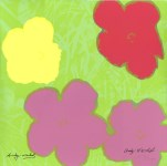 Lot #2047: ANDY WARHOL [d'apres] - Flowers #03 - Color lithograph