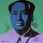 Lot #1900: ANDY WARHOL [d'apres] - Mao #01 - Color lithograph