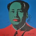 Lot #1899: ANDY WARHOL [d'apres] - Mao #04 - Color lithograph