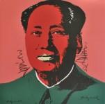 Lot #1898: ANDY WARHOL [d'apres] - Mao #05 - Color lithograph