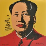 Lot #1896: ANDY WARHOL [d'apres] - Mao #08 - Color lithograph