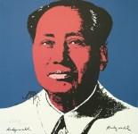 Lot #1895: ANDY WARHOL [d'apres] - Mao #09 - Color lithograph