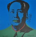 Lot #1894: ANDY WARHOL [d'apres] - Mao #10 - Color lithograph