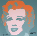 Lot #1892: ANDY WARHOL [d'apres] - Marilyn #01 - Color lithograph