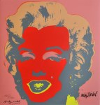 Lot #1891: ANDY WARHOL [d'apres] - Marilyn #04 - Color lithograph