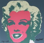 Lot #1889: ANDY WARHOL [d'apres] - Marilyn #06 - Color lithograph