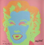 Lot #1888: ANDY WARHOL [d'apres] - Marilyn #09 - Color lithograph