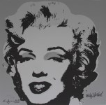 Lot #1887: ANDY WARHOL [d'apres] - Marilyn #10 - Color lithograph