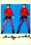 Lot #1306: ANDY WARHOL - Elvis I - Color offset lithograph